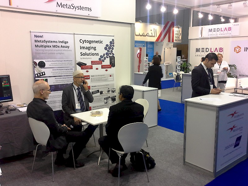 MetaSystems on MedLab in Dubai