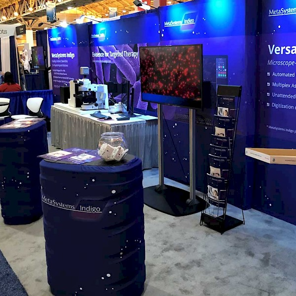 MetaSystems Indigo Exhibition on ASM 2017 in New Orleans
