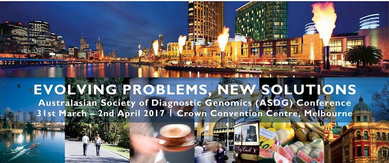 Australasian Society of Diagnostic Genomics (ASDG) 2019