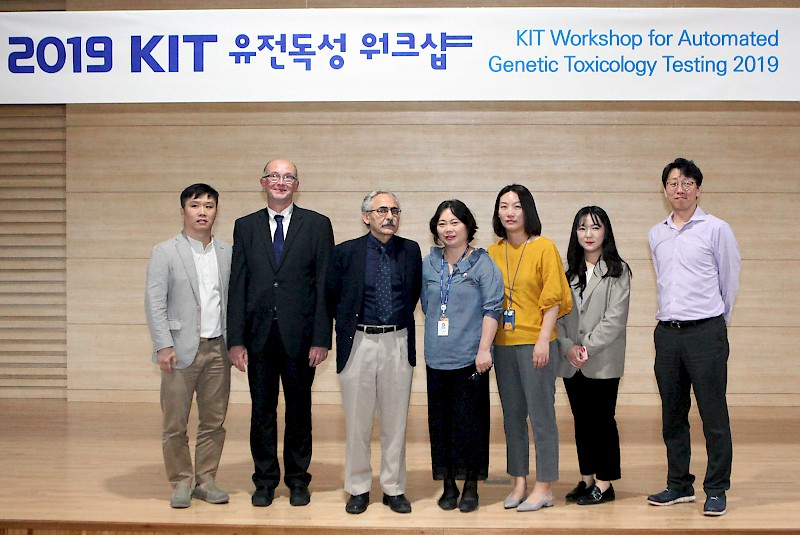 Workshop on Automated Genetic Toxicology at KIT, Daejeong, Korea