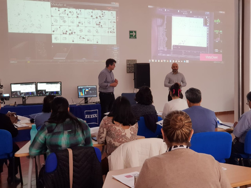 Workshop on Automated Cytogenetics in Mexico